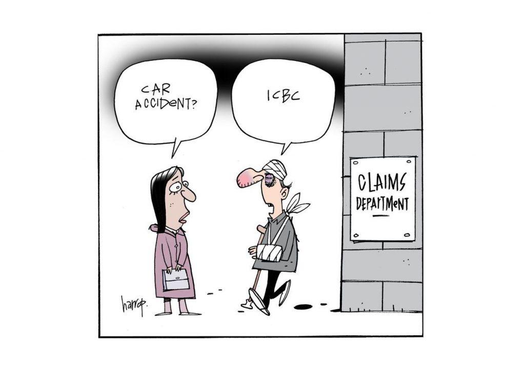 Vancouver Sun's - Graham Harrop's Editorial Cartoon