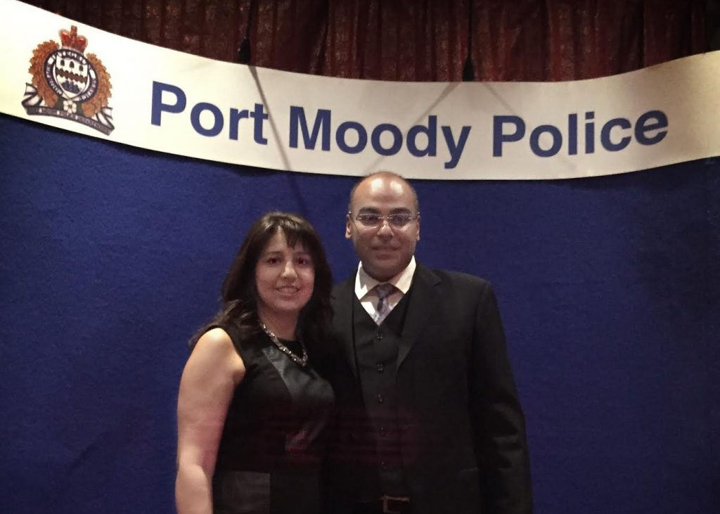 Congratulations Manj Kaila, Port Moody Police Department