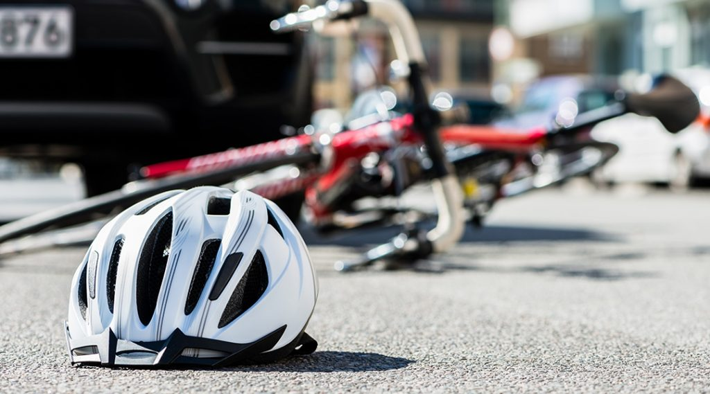 RHE represents 17 year-old involved in a Bicycle Accident.
